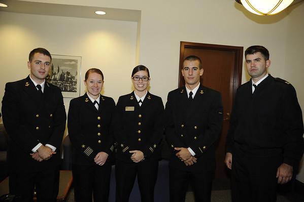 SATURDAY: NROTC Breakfast and Presentation